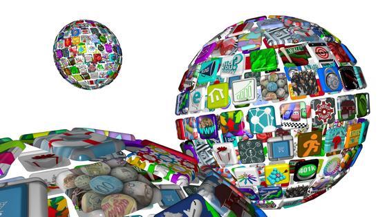 Die weite Welt der Apps: Auch Versicherungen können jetzt schon per App abgeschlossen werden.