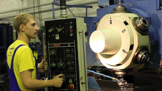 Werkzeugmaschinenbauer können sich über gute Auftragsaussichten freuen.