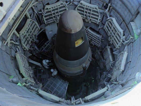 Abschreckung im Kalten Krieg: Mittelstreckenraketen wurden auch in Deutschland stationiert.