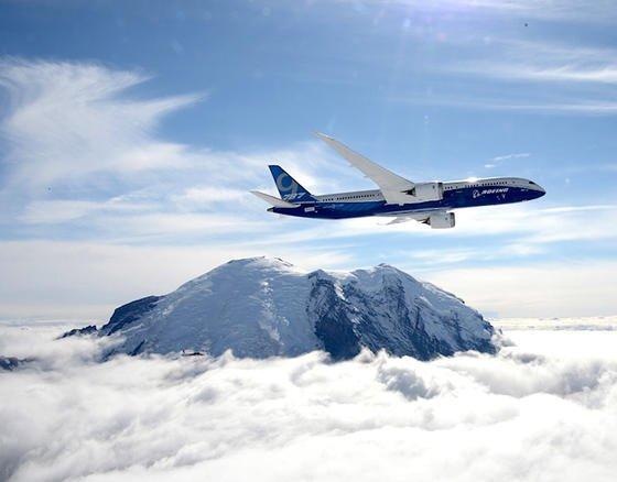 Die Boeing 787-9 verfügt über zwei Triebwerke, die unter den Tragflächen angeordnet sind. Eine Hilfsturbine im Heck kann im Notfall zugeschaltet werden und Strom liefern. Im Unterschied zu den übrigen Dreamliner-Modellen gibt es als Sicherheitsplus noch eine zusätzlich Ram Air Turbine.