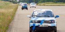 Elektroauto der TU München punktet in Wettfahrt gegen Serienmodelle