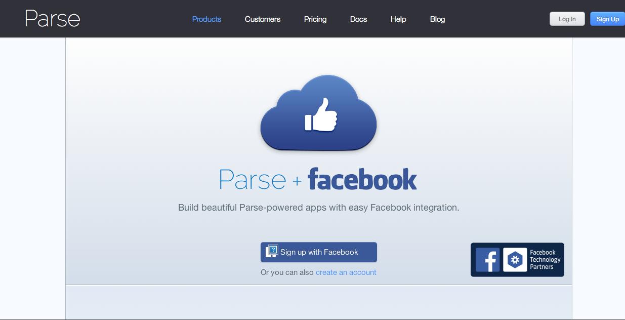 Facebook-Chef Zuckerberg warb auf der Entwicklerkonferenz f8 n San Fransisco für Parse-Plattform