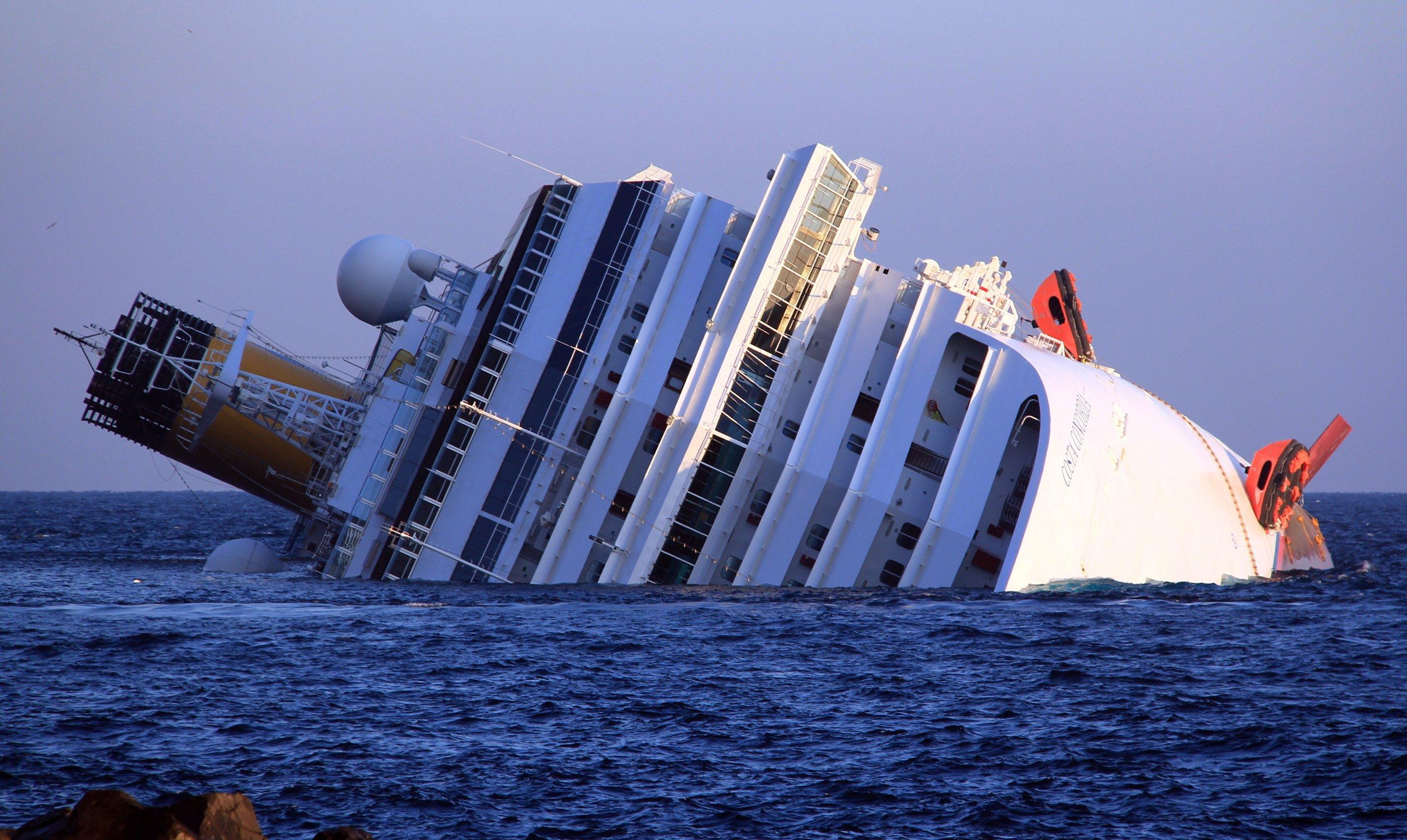 Die Costa Concordia verunglückte im Januar 2012.
