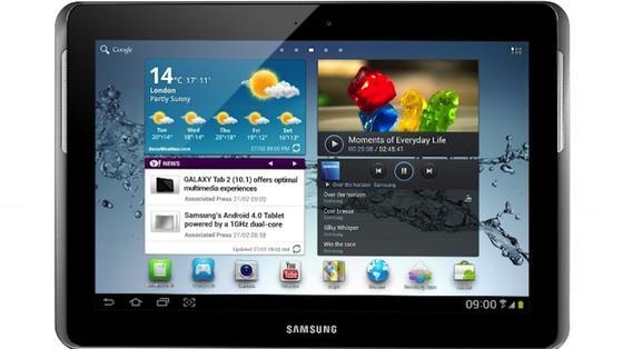 Beim Galaxy Tab 2 10.1 stellten die Geschworenen keine Patentverletzung fest.