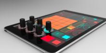 DJs bekommen echte Drehregler für Touchscreens