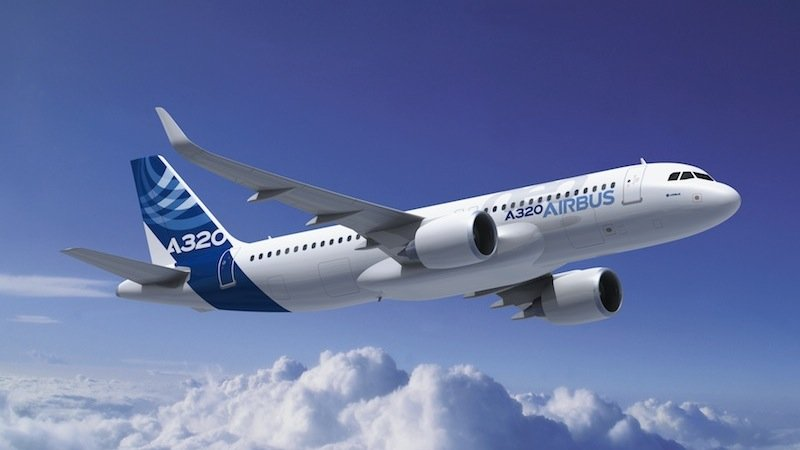 Zu den spritsparenden Mittelstreckenjets gehört auch der neue A320neo von Airbus.