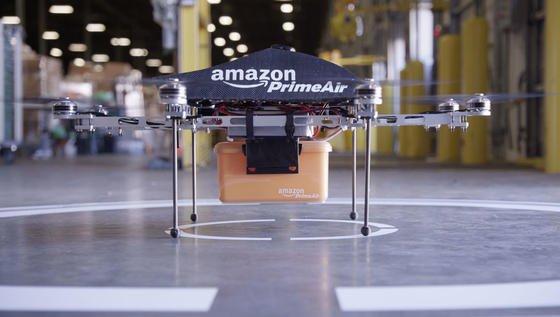 Amazon will seine Drohne in den USA auch außerhalb seines Forschungsgeländes testen. Von den US-Behörden wird es aber vorerst keine Fluggenehmigung dafür geben.