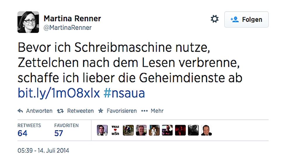 Unmissverständliche Worte von Martina Renner (DIE LINKE). Auch ihr UA-Kollege Christian Flisek (SPD) ist der Meinung, das Spionageabwehr anders geht.