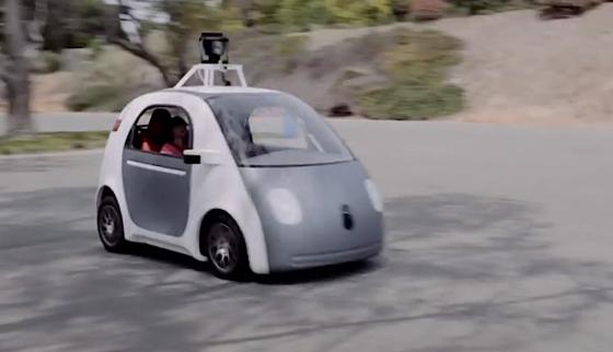 Das Google Auto fährt selbstständig mit einem Laser-Radar-System, Kameras und Navigationssystem GPS. Es könnte somit auch zur fahrenden Autobombe werden, befürchtet das FBI.