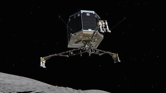 Der Rosetta Lander Philae wird das erste Modul sein, das je auf einem Kometen gelandet ist.