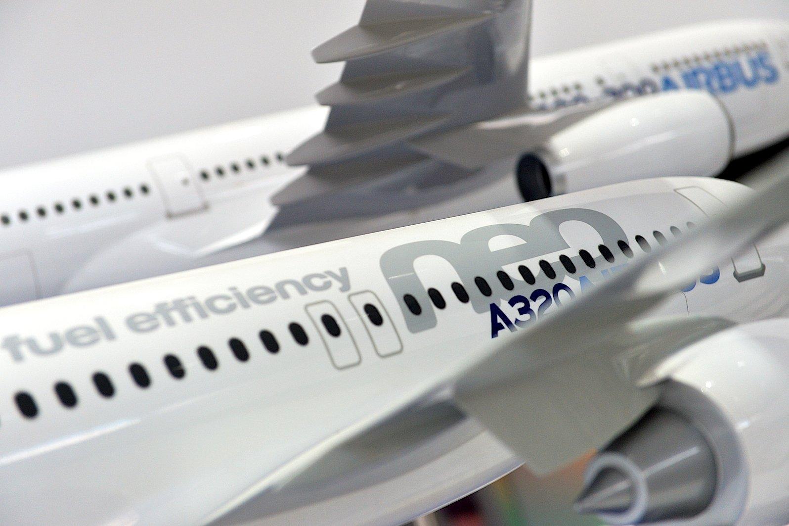 Der Airbus 320 neo wird künftig mit Einspritzdüsen für Kraftstoff aus dem 3D-Drucker ausgerüstet. Airbus arbeitet derzeit intensiv daran, weitere Bauteile im 3D-Druck herzustellen.