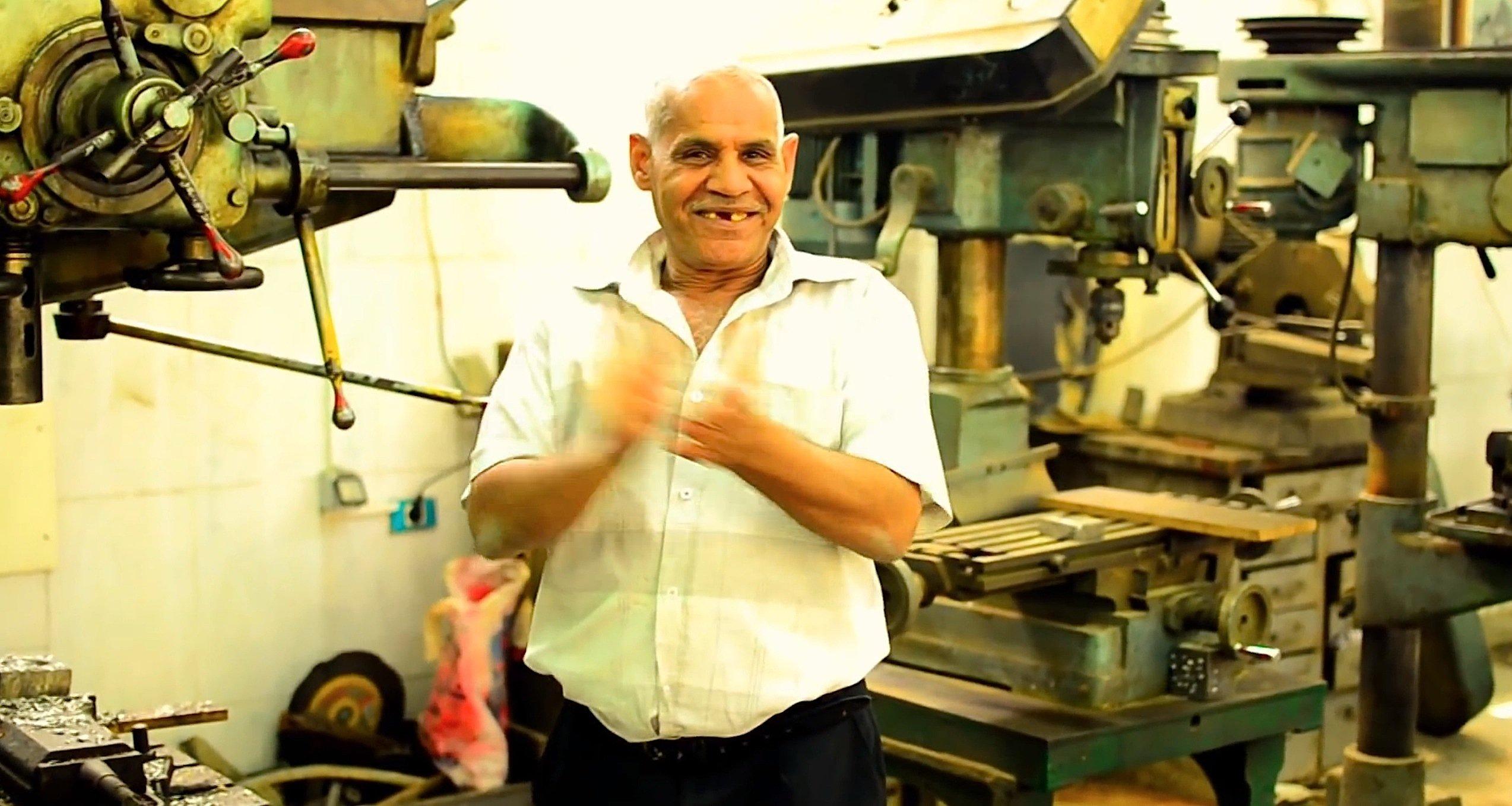 Maschinenbauer an der Shams-Universität in Kairo, im Happy-Video der Ingenieur-Fakultät