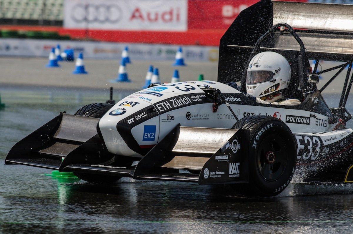 Die Ingenieur-Studenten der ETH Zürich gewannen das Rennen in der Klasse mit Elektroantrieb.