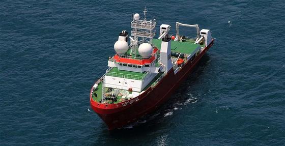 Das Bergungsschiff Fugro Equator: Die niederländische Firma soll mit zwei Schiffen, ausgerüstet mit Sonar- und Kameratechnik, 60.000 Quadratkilometer im Indischen Ozean nach der verschollenen Boeing 777 des Fluges MH370 suchen.