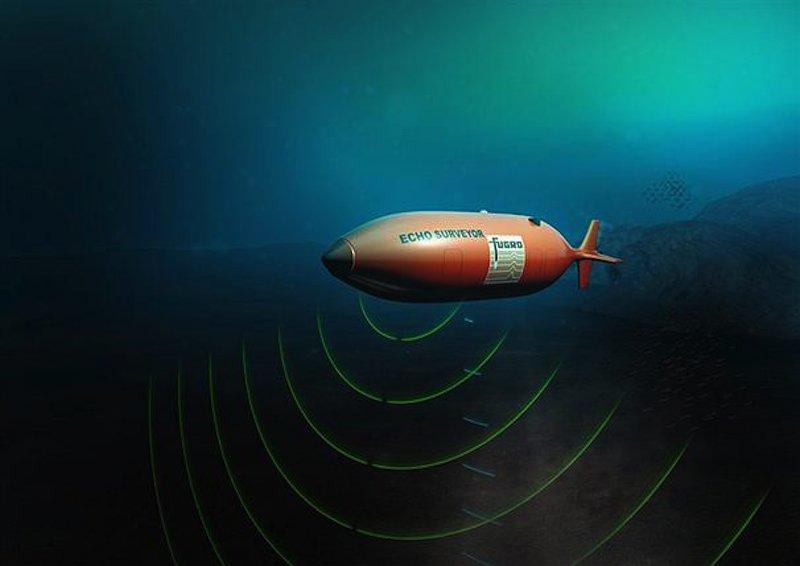 Mit Sonargeräten will Fugro den Meeresboden des Indischen Ozeans nach Wrackteilen absuchen.