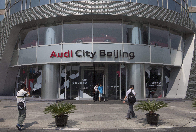 Die chinesischen Kartellbehörden erhöhen auch den Druck auf Audi. Gemeinsam mit den deutschen Herstellern BMW und Daimler dominiert der Autobauer derzeit den chinesischen Markt.