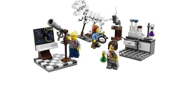 Schluss mit alten Rollenbildern: Im neuen Wissenschafts-Set von Lego übernehmen weibliche Spielfiguren aufregende Berufe. Das scheint für viele Kunden längst überfällig gewesen zu sein.