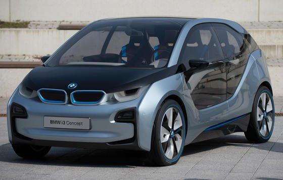 Das i3 Concept Elektroauto von BMW: Eine Diagnose der Akkus war während der Fahrt bislang nicht möglich, weil dafür aufwendige Labortechnik notwendig ist. Mit der mobilen Impedanzspektroskopie könnten E-Autohersteller wichtige Erkenntnisse für leistungsfähigere Batterien gewinnen.