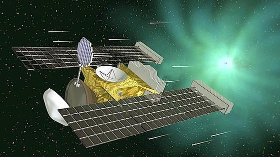 1999 startete die Raumsonde Stardust zum Kometen Wild 2, um Staubpartikel einzusammeln. 30.000 Helfer haben den Staubfänger unter die Lupe genommen und tatsächlich die Spuren von sieben Partikeln gefunden.