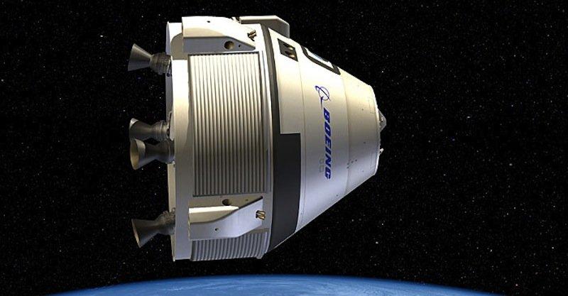 Außenansicht der CTS-100. Die Raumkapsel kann 60 Stunden autonom fliegen und soll zehn Einsätze überstehen.