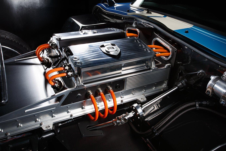 Die beiden Elektromotoren des Renovo Coupé erreichen eine Leistung von mehr als 500 PS.