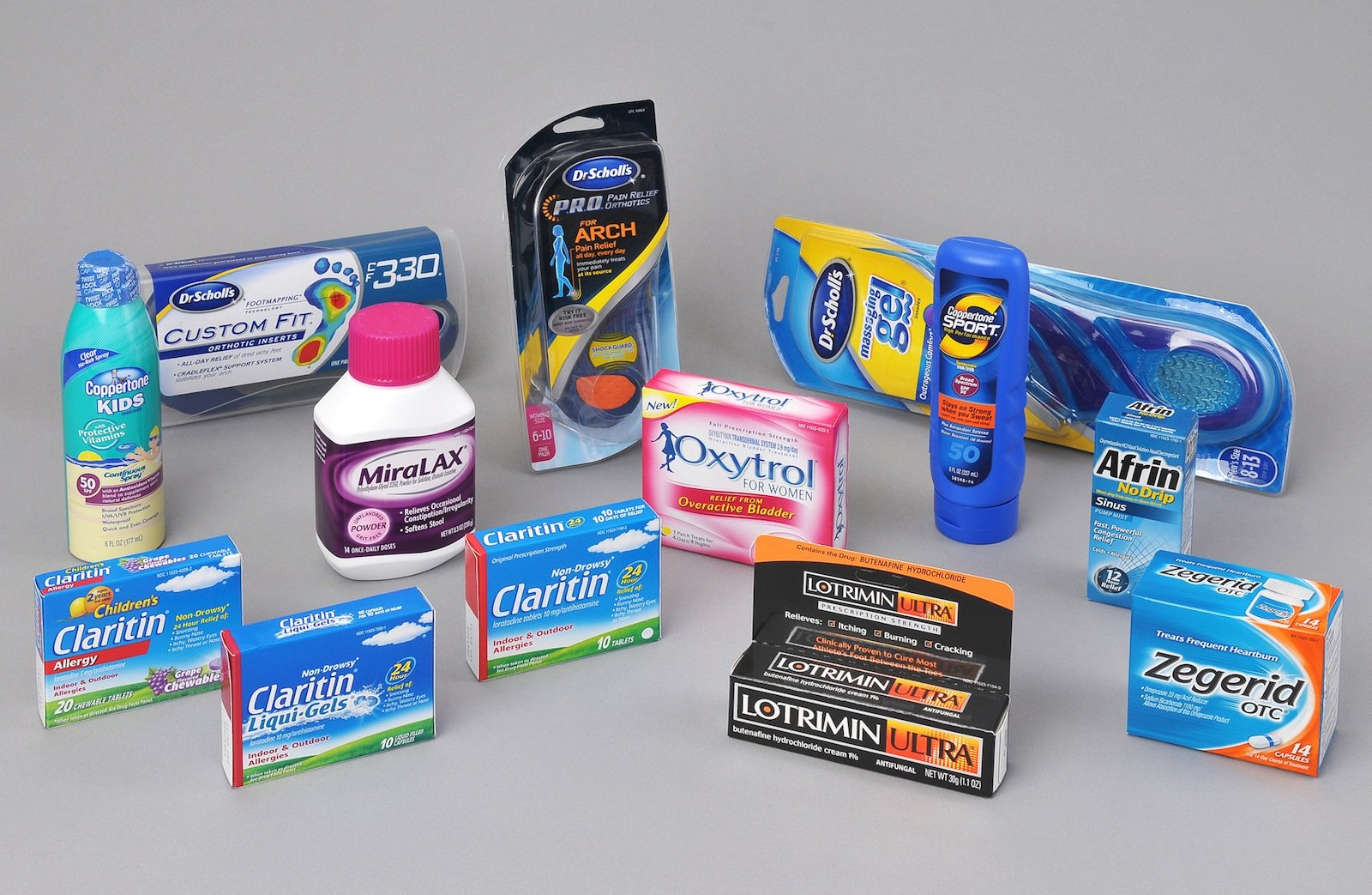 Künftig kann Bayer bei seinen rezeptfreien Artikeln auch Merck-Marken wie Kytta, Coppertone-Sonnencreme und die Fußpflegelinie Dr. Scholl's anbieten.
