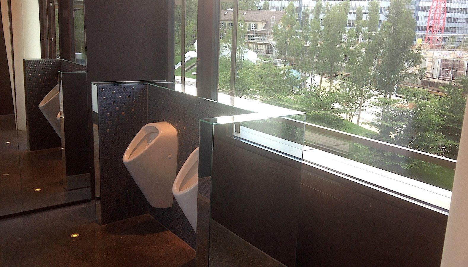 So sehen Sieger aus: Die Gästetoilette des Hotels 25hours in Zürich West hat schon über 100 Fans.