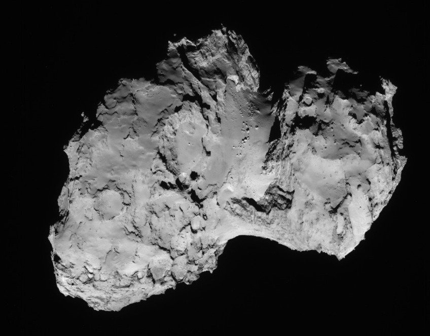 Tschuri flitzt derzeit in einer Entfernung von 600 Millionen Kilometern durchs All.