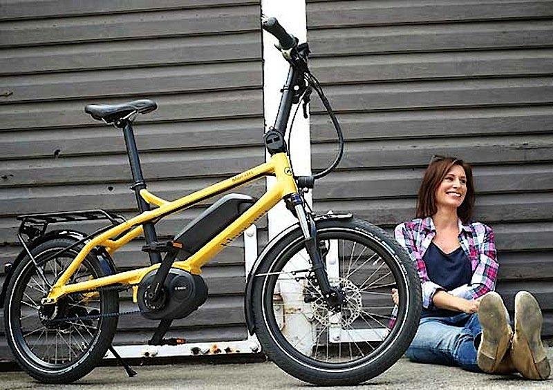 Das kompakte Stadtrad Pony von Riese und Müller zielt auf sportlich orientierte Cityradler. Das Rad wird in einer Größe mit variabler Sattelstütze angeboten und eignet sich für Fahrer, die zwischen 1,50 und 1,95 Meter messen.
