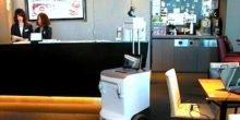 Fahrender Bürodrucker liefert Ausdrucke direkt an den Arbeitsplatz