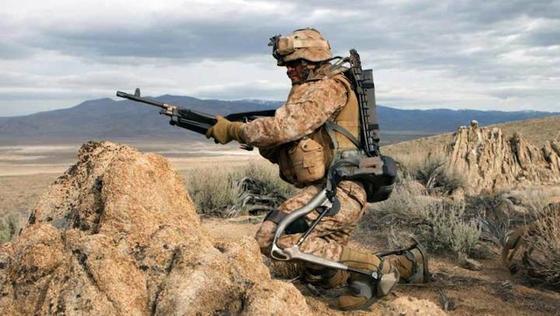 Lockheed Martin arbeitet an Exoskeletten für den Kampfeinsatz: Talos soll schon im Jahr 2018 einsatzbereit sein.