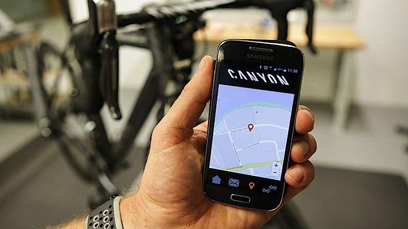 Dieben macht das Connected Bike das Leben schwer: Die Position des Fahrrads kann der Besitzer jederzeit auf seinem Smartphone verfolgen.
