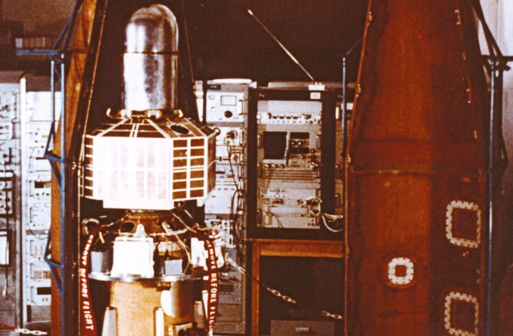 Den ersten Satelliten brachte die ESA 1970 vom Weltraumbahnhof Kourou in Französisch-Guyana ins All.