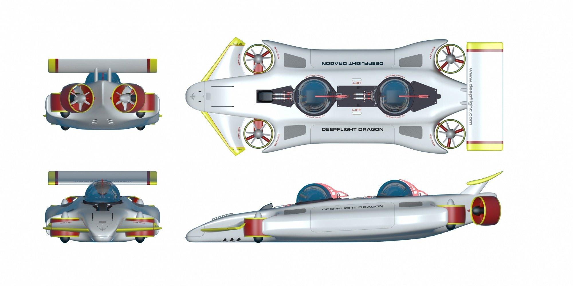 1,5 Millionen US-Dollar kostet das U-Boot Dragon. Hersteller DeepFlight verspricht Sicherheit: Wird der elektrische Batterie-Antrieb abgeschaltet, steigt das Gefährt durch den eigenen Auftrieb zur Oberfläche.