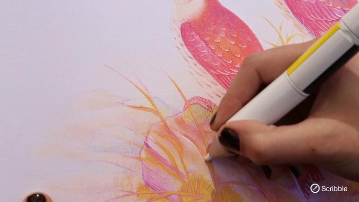 Alle Farben in einem Stift: Dadurch reduziert sich auch das Müllaufkommen, werben die Erfinder für ihr Produkt.