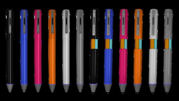 So sehen die Farbwunderstifte aus, die ab Frühjahr 2015 ausgeliefert werden sollen.