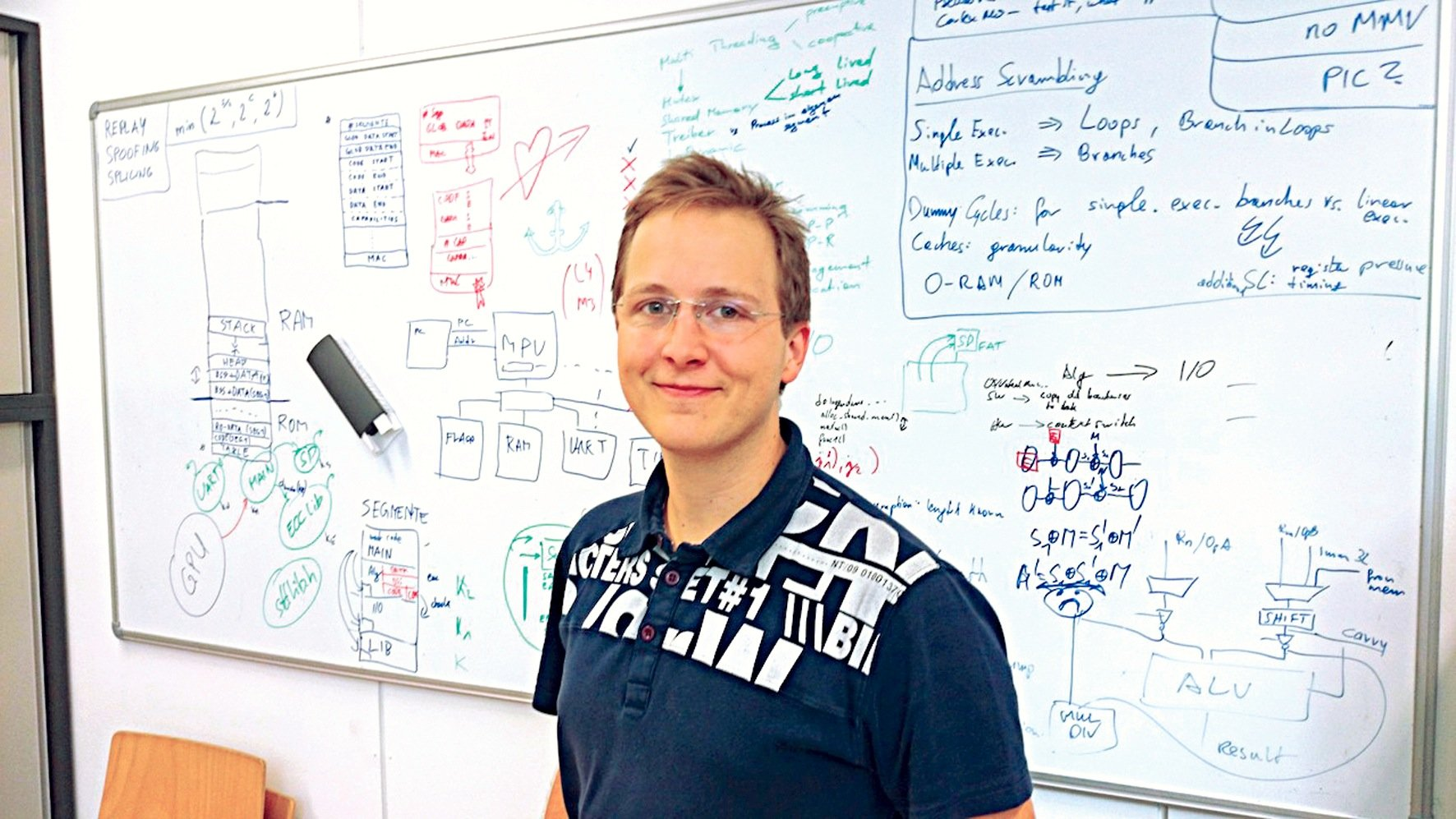 """Kryptograph Erich Wenger von der TU Graz:""""Vom mathematischen Aspekt her sind die Standard-Algorithmen zur Verschlüsselung von Internetverbindungen sicher."""""""