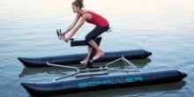 Schiller X1 : Wasserfahrrad für Besserverdienende