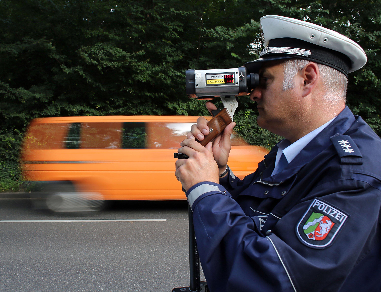 Blitzmarathon: Am 18. September gibt es bundesweit wieder verstärkte Geschwindigkeitskontrollen der Polizei.