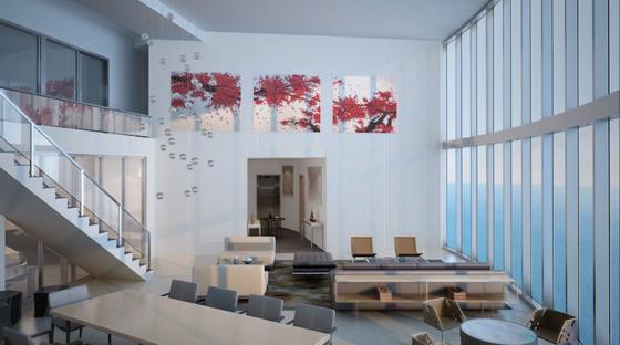 Architekturbüros Frankfurt in frankfurt soll ein wohnturm im porsche design entstehen