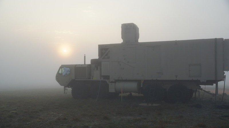 Die Tests in Florida fanden bewusst bei schlechten Wetterbedingungen statt. Denn bislang sind Bodennebel und Regen Hauptwidersacher der Lasersysteme.