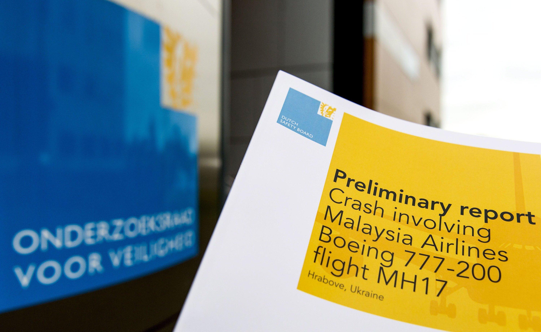 Der Zwischenbericht zum Absturz der malayischen Passagiermaschine MH17 klärt lediglich, dass technisches und menschliches Versagen an Bord ausgeschlossen werden können.