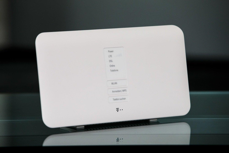 Der neue Hybrid-Router der Telekom: Selbst auf dem Land verspricht die Telekom Surfgeschwindigkeiten von bis zu 150Megabit pro Sekunde.