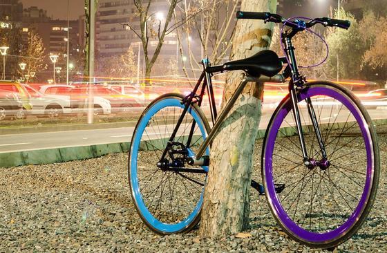 Beim diebstahlsicheren Yerka-Fahrrad fungieren Fahrradteile gleichzeitig als Schloss. Wer es knackt, hat das Nachsehen.