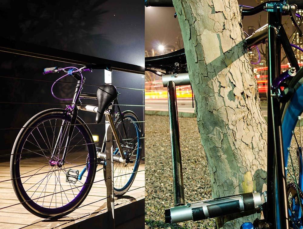 Geübte können das Yerka-Fahrrad innerhalb von 20 Sekunden abschließen.