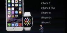Große Show bei Apple: iPhone 6, Apple Pay und die Apple Watch sind da
