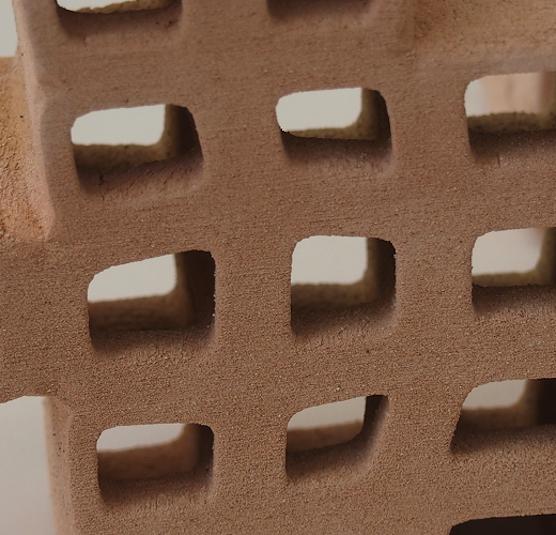 Bei der Herstellung der Polybricks mit dem 3D-Drucker ergeben sich einige Vorteile: Die Ziegelsteine lassen sich beliebig formen, ohne Materialverlust aushöhlen und kostengünstig transportieren.