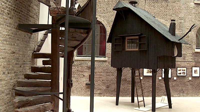 Das Beetle´s Haus des japanischen Architekten Terunobu Fujimori steht derzeit im Londoner Victoria and Albert Museum.