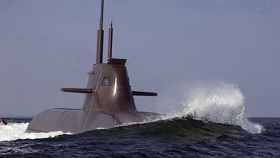 Die U-Boote der Klasse 212 von ThyssenKrupp fahren mit einem Brennstoffzellenantrieb. Sie lassen sich von Sonar und Radar nicht orten und sind deshalb heißbegehrt.