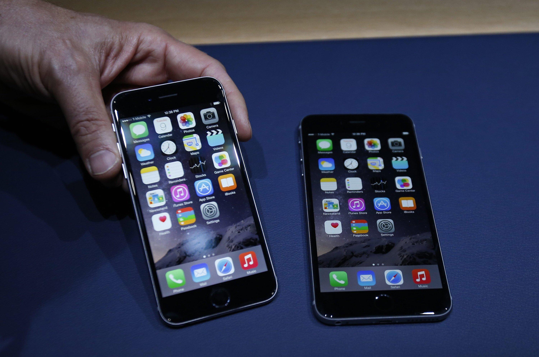 Das neue iPhone 6 hat ein größeres Display und ist dünner als sein Vorgänger. Und bezahlen lässt es sich auch damit.